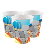 Dragon Party Cups - 266ml Paper Party Cups