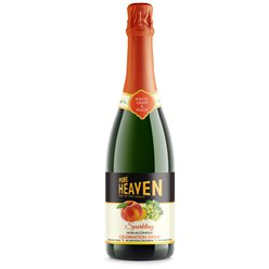 Non-alcoholic Bubbly - Pure Heaven White Grape & Peach