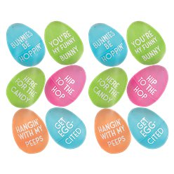 Easter Small Fillable Eggs - 6cm