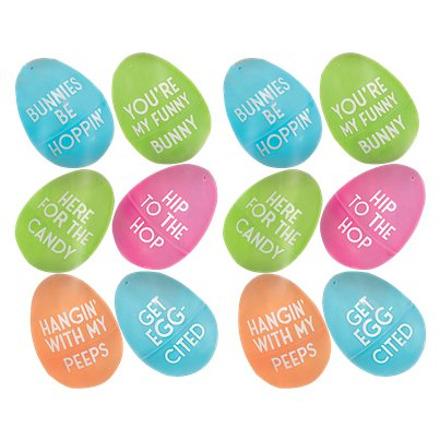 Easter Small Fillable Eggs- 6cm