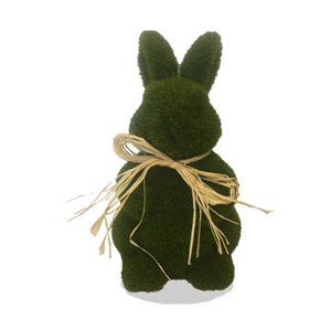 Easter Moss Bunny Decoration - 18cm