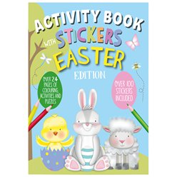 Easter Activity Book with Stickers