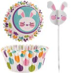 Easter Cupcake Cases & Picks
