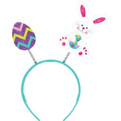 Easter Rabbit & Egg Felt Head Bopper
