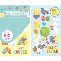 Happy Easter Sticker Book - Over 100 Stickers