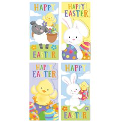 Easter gift bags party delights cute easter character money wallets negle Images