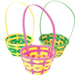Small Assorted Easter Baskets - 12cm x 21cm