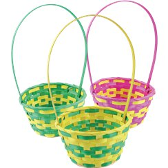 Medium Assorted Easter Baskets - 17cm x 33cm