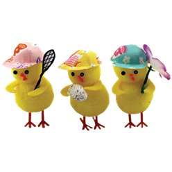 Mini Easter Chicks with Hats