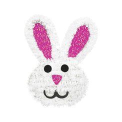Easter Party Tinsel 3D Bunny