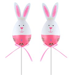 Easter Bunny Picks - 28cm assorted colours