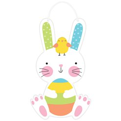 Easter Hello Bunny Sign- 29cm
