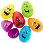 Large Funny Face Fillable Eggs - 5.7cm