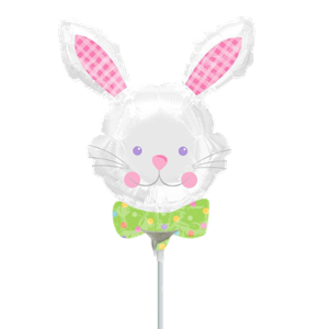 Hop Hop Bunny Mini Balloon - 9