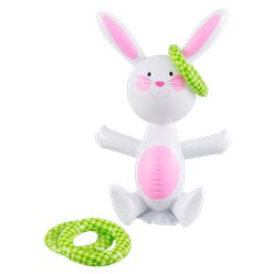 Easter Bunny Inflatable Ring Toss Game - 48cm