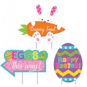 Easter Egg Hunt Lawn Signs