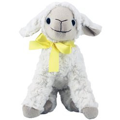 Easter Lamb Plush Soft Toy - 20cm
