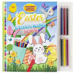 Colouring Book & Pencils