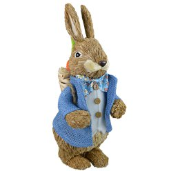 Traditional Straw Bunny Decoration - 32cm