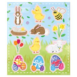 Easter Stickers - 11.5cm