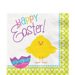 Happy Easter Lunch Napkins