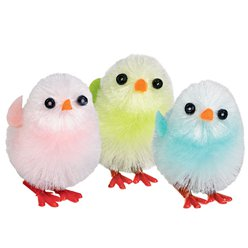 Easter Chicks Multicoloured - 3.8cm