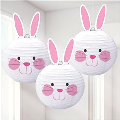 Bunny Lanterns Decoration - 24cm