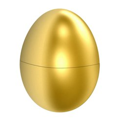 Easter Fillable Golden Egg - 10cm