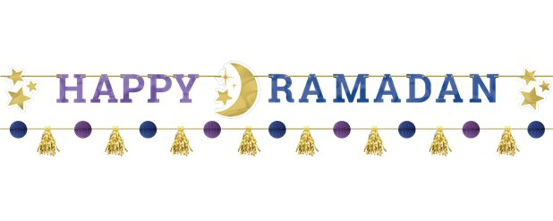 Happy Ramadan Banner Kit