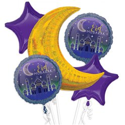 Eid Foil Balloon Bouquet Kit