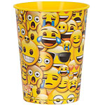 Emoji Cup - 455ml Plastic Party Cup