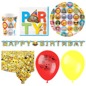 Emoji Party Pack - Deluxe Pack for 16