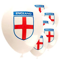 "England Balloons - 12"" Latex"