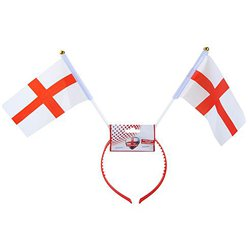 St Georges Flag Headboppers