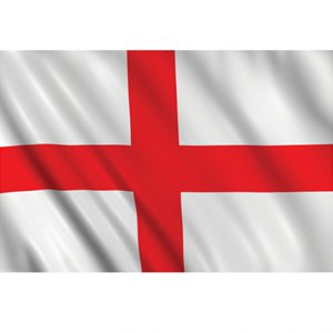 England Cloth Flag - 5ft x 3ft
