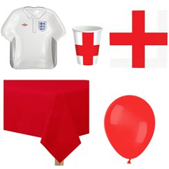 England Party Pack - Value Pack For 8