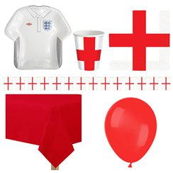 England Party Pack - Deluxe Pack for 8