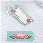 Eternal Rose Large Luggage Tags