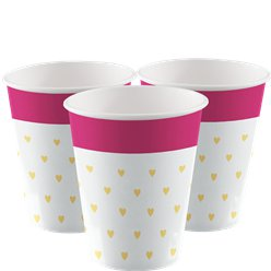 Everyday Love Small Hearts Cups - 250ml