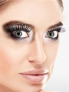 Black Holographic Eyelashes