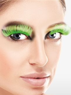 Green XL Eyelashes