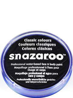 Snazaroo Black Face Paint - 18ml