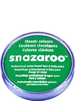 Snazaroo Bright Green Face Paint - 18ml