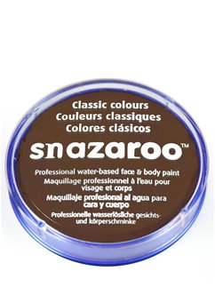 Snazaroo Dark Brown Face Paint - 18ml