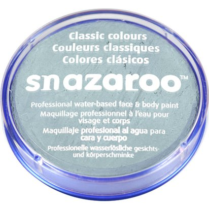 Light Grey Snazaroo Face Paint - 18ml Pot front