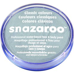 Snazaroo Light Grey Face Paint - 18ml