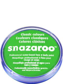 Snazaroo Lime Green Face Paint - 18ml