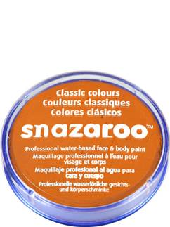 Snazaroo Orange Face Paint - 18ml