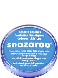 Snazaroo Sky Blue Face Paint - 18ml