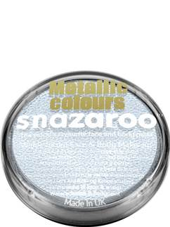 Snazaroo Electric Silver Face Paint - 18ml